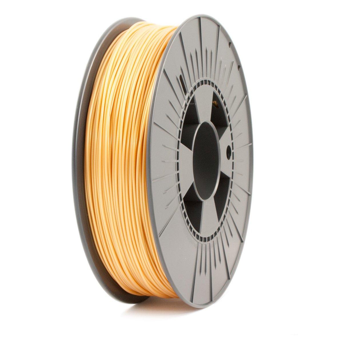 Ice Filaments ICEFIL1PLA120 Filamento PLA, 1,75 mm, 0,75 kg, Dorado