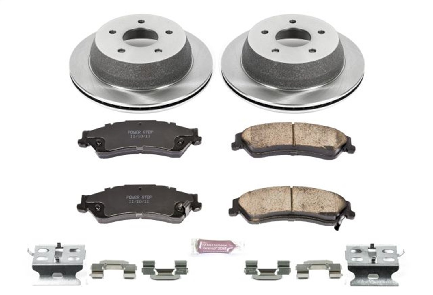 Autospecialty KOE2008 1-Click OE Replacement Brake Kit
