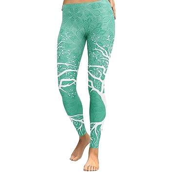 Pantalones De Yoga,Las Mujeres Imprimir Árbol Pantalones De ...