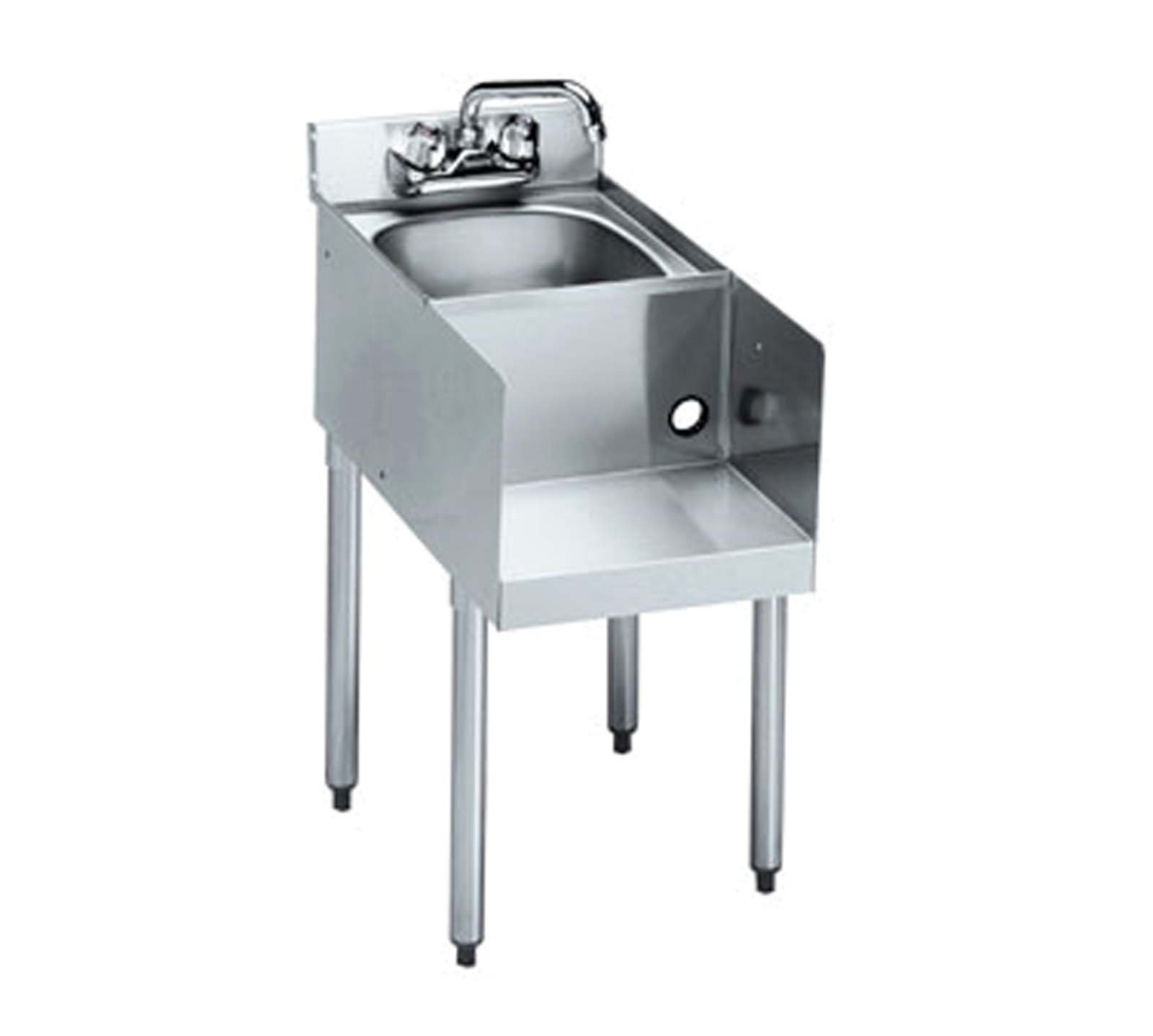 Krowne 18-18BD - 1800 Series 18'' Blender/ Dump Sink Modular Add-On