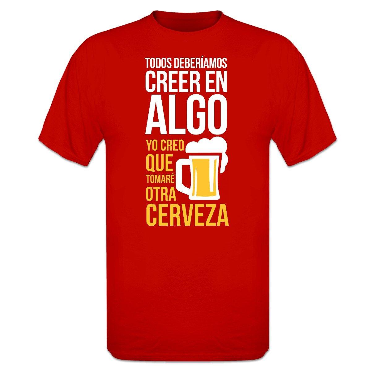 Shirtcity Camiseta Todos deberíamos Creer en Algo yo Creo ...