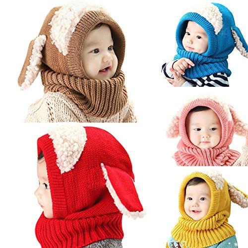 De alta calidad nusey (TM) bebé orejas de conejo gorro infantil gorro gorro  gorra 1a5156cf936