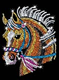 Sequin Art Blue, Horse, Sparkling Arts and Crafts