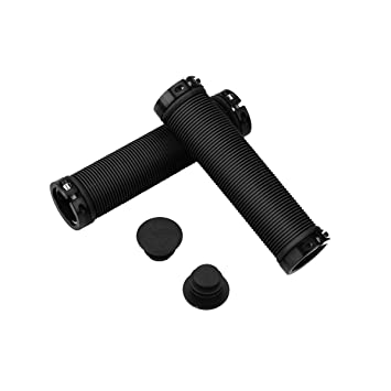 Handlebar Grips Double Lock on Locking Mountain Bike Grips Bar Ends BMX MTB UK