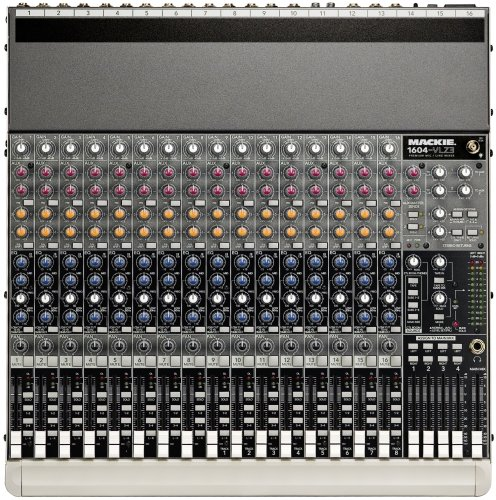 Vlz Mackie 1604 Pro - Mackie 1604-VLZ3 16-Channel Compact Mixer
