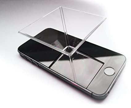 Mobile Phone Accessories 3d Hologram Pyramid Display Holographic Showcase For Smartphones Christmas Gift Online Shop Cellphones & Telecommunications
