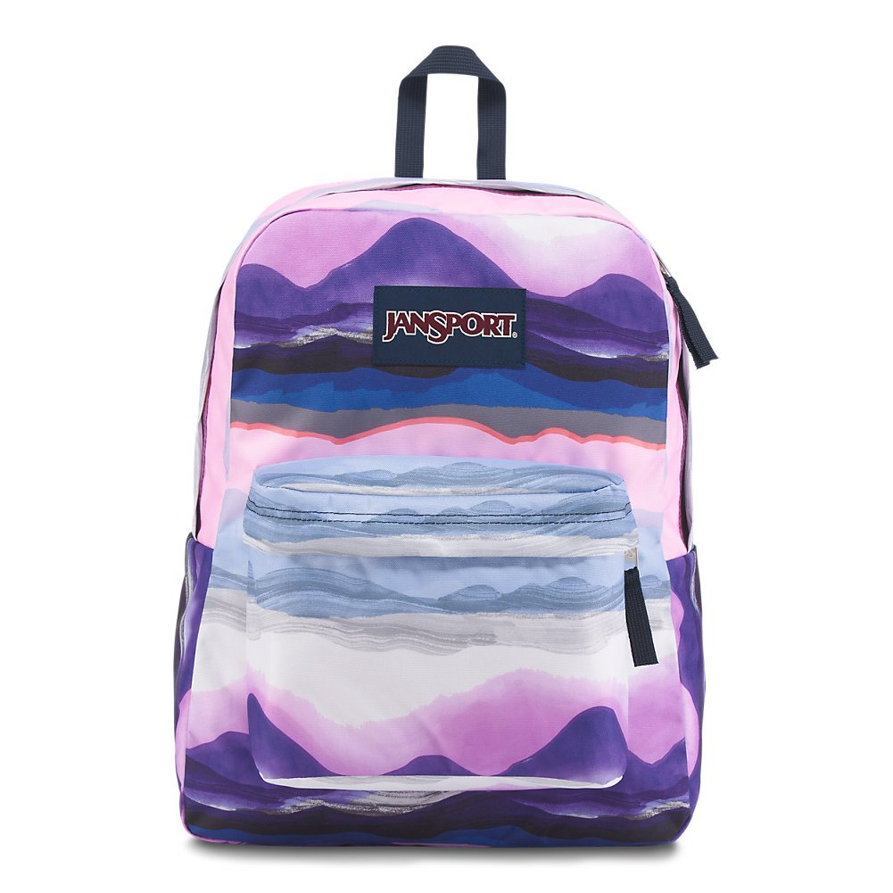 JanSport Superbreak Backpack - Baja Sunset - Classic, Ultralight