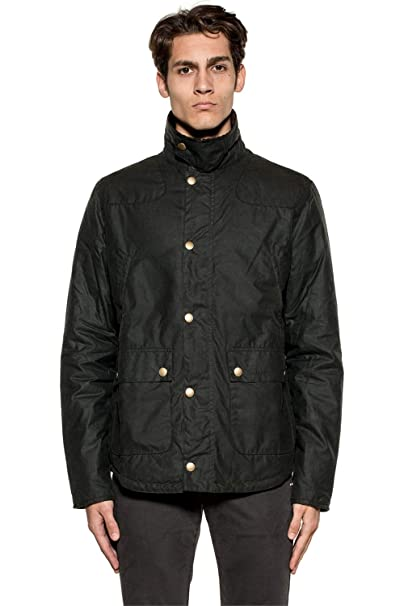Barbour Reelin Jacket Abbigliamento Amazon it Wax ZrqC5Z
