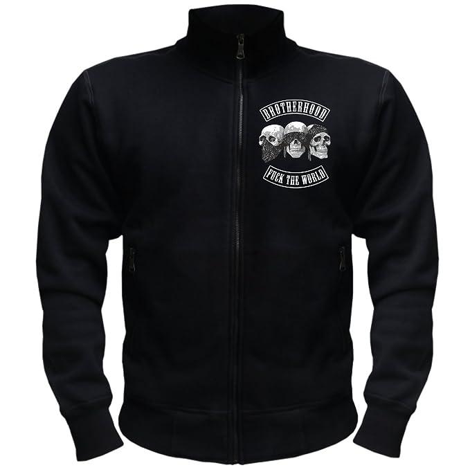 Hombres y chaqueta para hombre Only the Strong Survive (con espalda Impresión) negro XXXXXXXL: Amazon.es: Ropa y accesorios