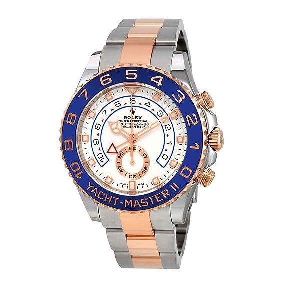 Rolex 116681-0002 Yacht-Master II - Reloj cronógrafo automático para hombre, esfera