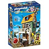 PLAYMOBIL Super 4 Camouflage Pirate Fort with Ruby Building Kit