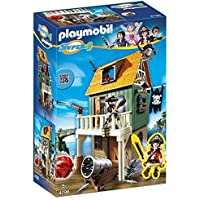 PLAYMOBIL Super 4 Camouflage Pirate Fort with Ruby...