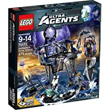 LEGO Agents AntiMatter's Portal Hideout - 70172 Construction Toy