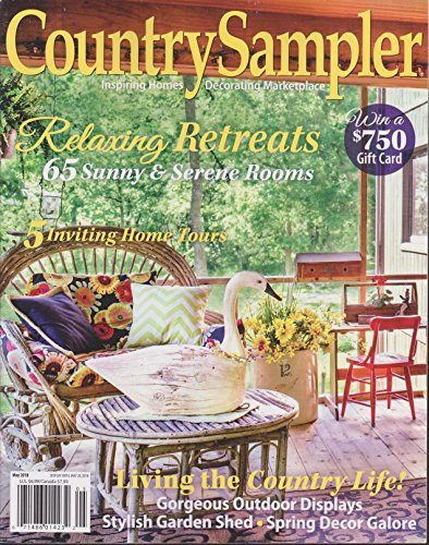 Country Sampler Magazine May 2018 -