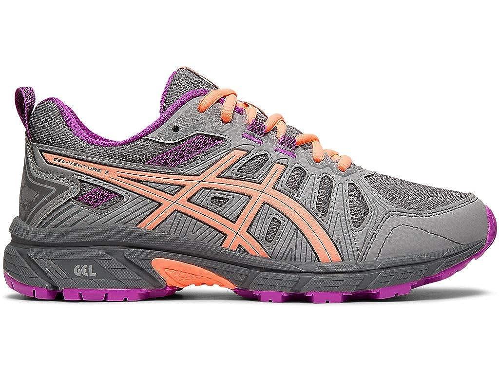 Girl/' Asics Gel-Venture 7 Gs Trail Running Shoe Little Kid /& Big Kid Clothing,
