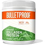 Unflavored Collagen Protein Powder, 18g Protein, 17.6 Oz, Bulletproof Grass Fed Collagen Peptides and Amino Acids for Healthy