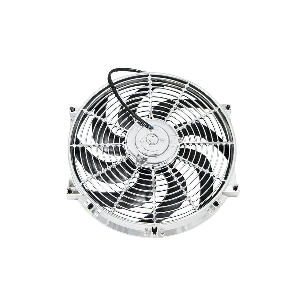 Top Street Performance HC6104C 14' Universal Radiator Fan with S-Blades (160W/1900 CFM)