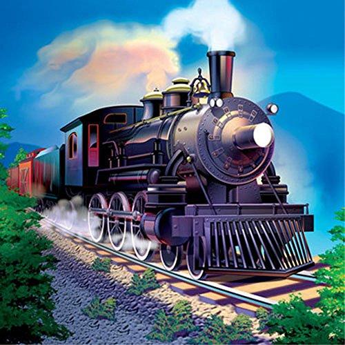 Clickety Clack Train - Clickety Clack Train Lunch Napkins (16ct)