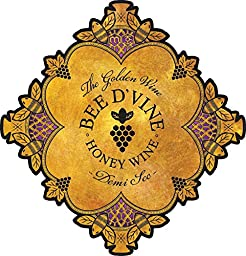 2013 Bee d\'Vine Demi Sec Honey Wine (aka Mead or Tej) 750 mL