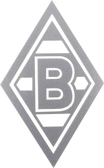 Aufkleber Sticker Raute Silber Vfl Borussia Mönchengladbach