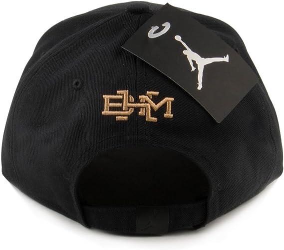 Nike BHM Snapback Gorra Línea Michael Jordan, Hombre, Negro (Black ...