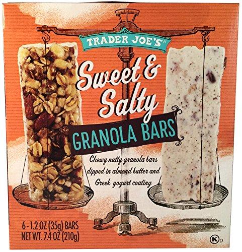 Sweet Yogurt (Trader Joe's Sweet and Salty Granola Bars, 7.4 Oz Box, 6 Bars per Box, (Pack of 2))