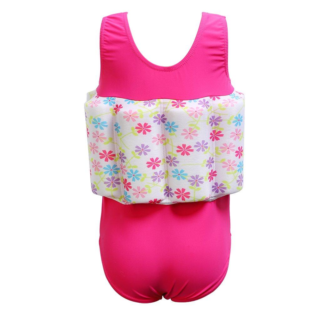 DAXIANG Niños bebé niñas Flotante flotabilidad Swimsuit ...