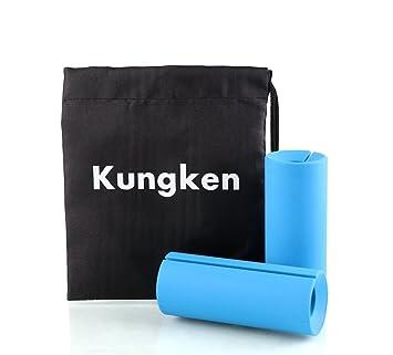 kungken Fitness brazo Barra de agarre Muscle Builder mancuernas y pesas de grosor Bar 1 par: Amazon.es: Deportes y aire libre