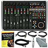 Behringer X-TOUCH Universal Control Surface and Accessory Bundle w/ Home Recording for Musicians for Dummies Guide + Much More