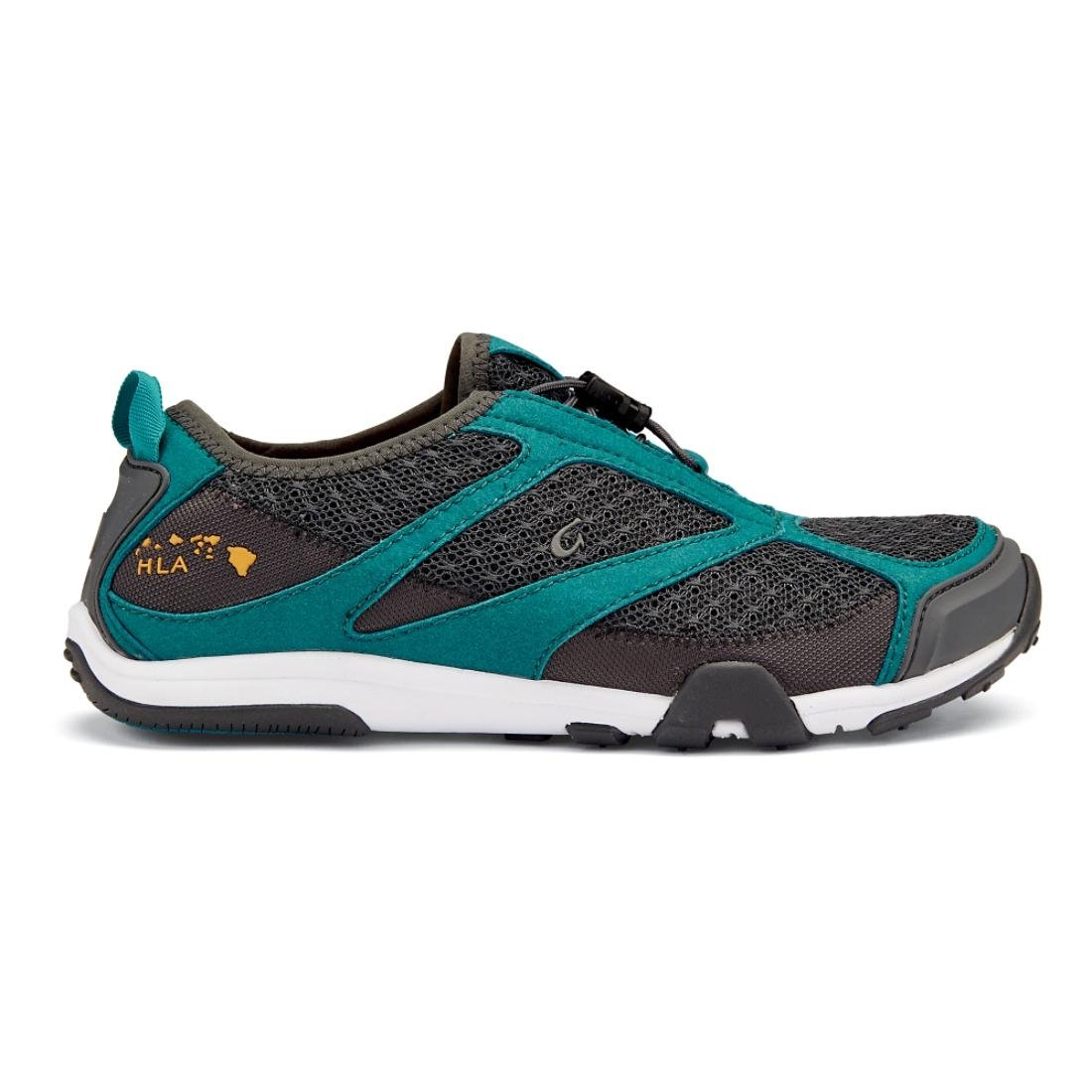 OLUKAI Eleu Trainer Shoe - Women's B010EAVN4W 11 B(M) US|Dark Shadow/Teal