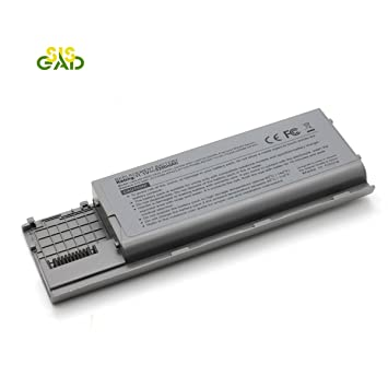 SISGAD batería para ordenador portátil Dell Latitude D620, D630, D630 C, D631, Precision M2300, 5200 mAh/11.1 V/6-cells: Amazon.es: Informática