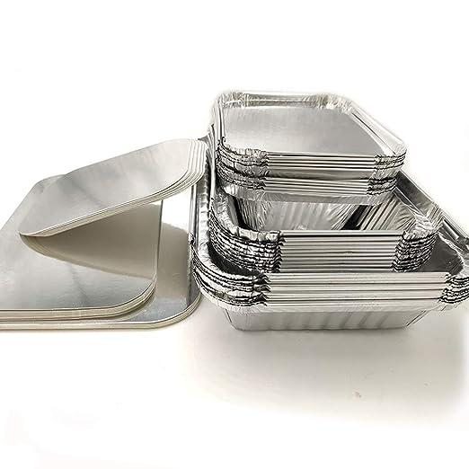 Amaoma 30 Piezas Desechables Papel de Aluminio para Horno,Caja ...