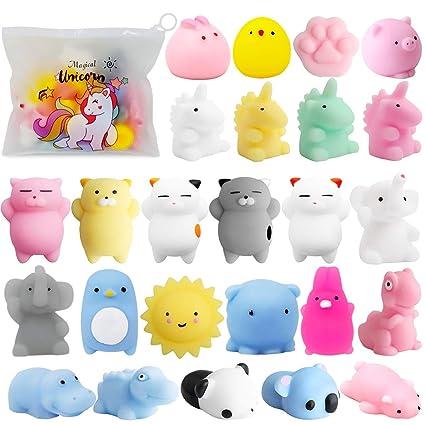 Amazon.com: POKONBOY Mochi Squishy Toys-Mini Juguetes ...