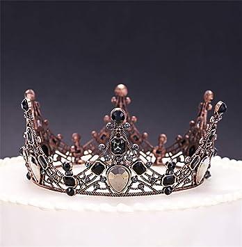 Amazon.com: ELEGENCE-Z Coronas de cristal, Europa y América ...