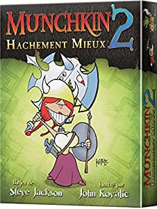 Juegos de Cartas Munchkin 2: Hachement mieux español Asmodee EFSJMU02: Amazon.es: Juguetes y juegos