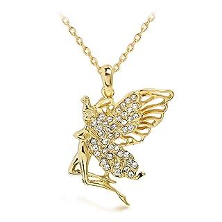 Skyllc® squisito Retro Collana placcata oro Collana strass lega collana Wedding per indossare ogni giorno Matrimonio giorno di Natale