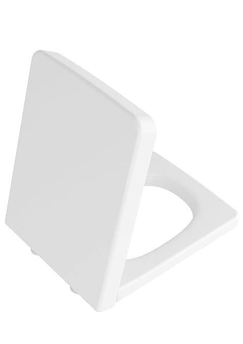 Vitra bagno - Sedile WC T4 con fissaggio dall\' alto, 1 pezzi, bianco ...