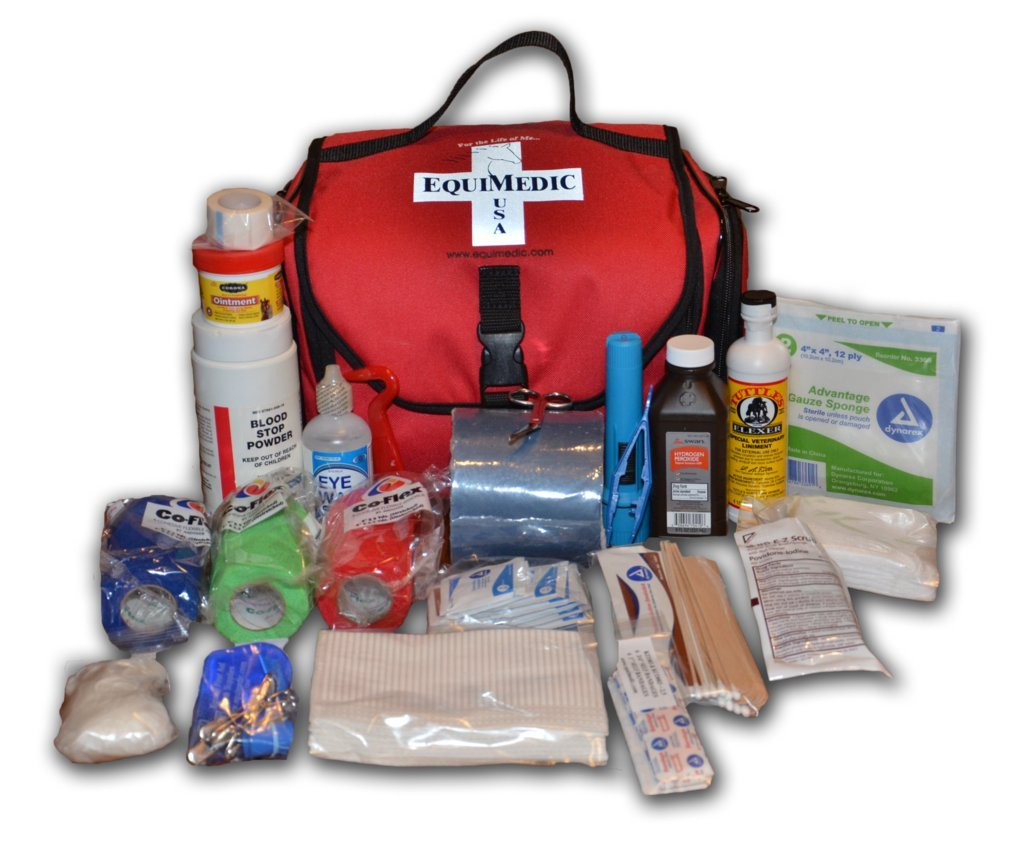 Trailering Equine First Aid Medical Kit - Small by EquiMedic, USA (Image #1)