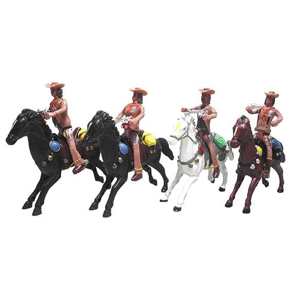 Juguetes de Vaquero Hacia Oeste por Gente del Caballo Acción Indio ...