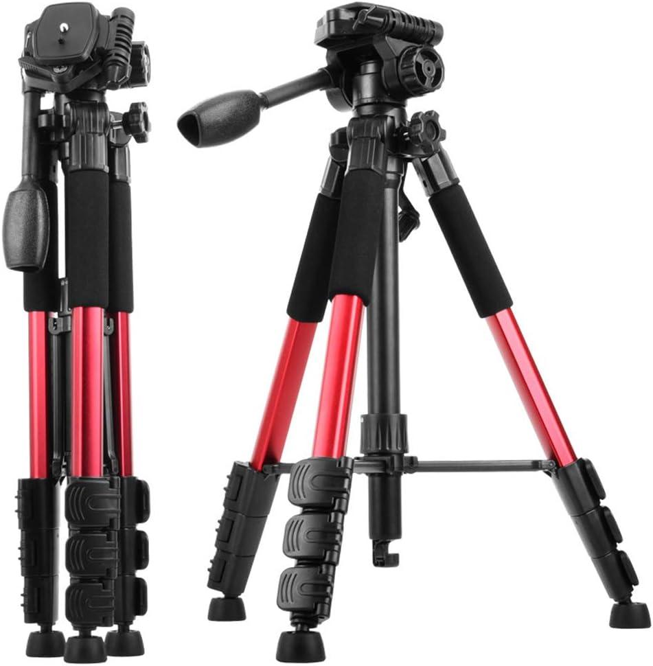 Lightweight Camera Tripod,Aluminum Portable Travel Lightweight Camera Stand for Canon Nikon Sony Samsung Olympus Panasonic Video Camcorder DSLR DV
