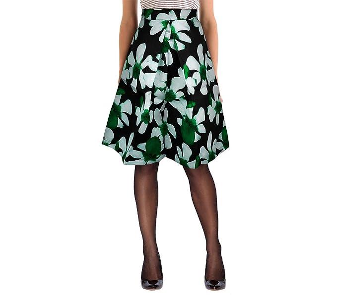 61350 3 Set de 3 faldas mod.Rosemary años 50 estampado de flores ...