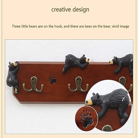 Amazon.com: LAXF-Wall Coat Racks with Hooks/Hangers Coat ...