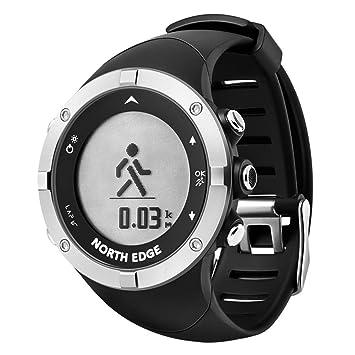 North Edge reloj de pulsera para hombre, digital, resistente al agua rastreador de actividad, para running, con GPS