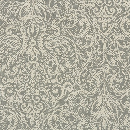 Morgan Fabrics Veranda Dove Print Micro Denier Faux Suede Upholstery By the Yard