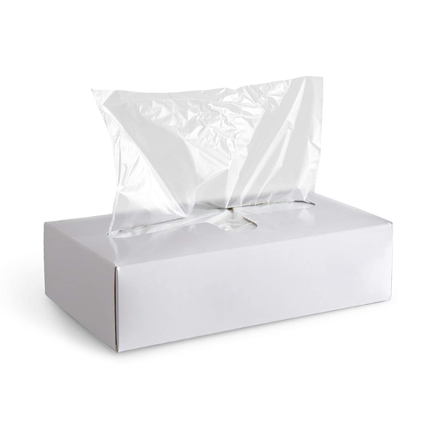 APQ Pack of 1000 Deli and Bakery Wrap Plastic Sheets 10 x 10 3/4. Pop-Up Poly Sheets 10 x 10.75 Food Wrapping Sheets for Foodservice Applications, Sandwiches, Subs, Cookies, Candies.