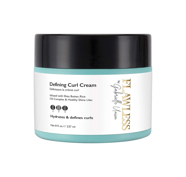 Flawless by Gabrielle Union - Defining Curl Hair Cream, 8 OZ