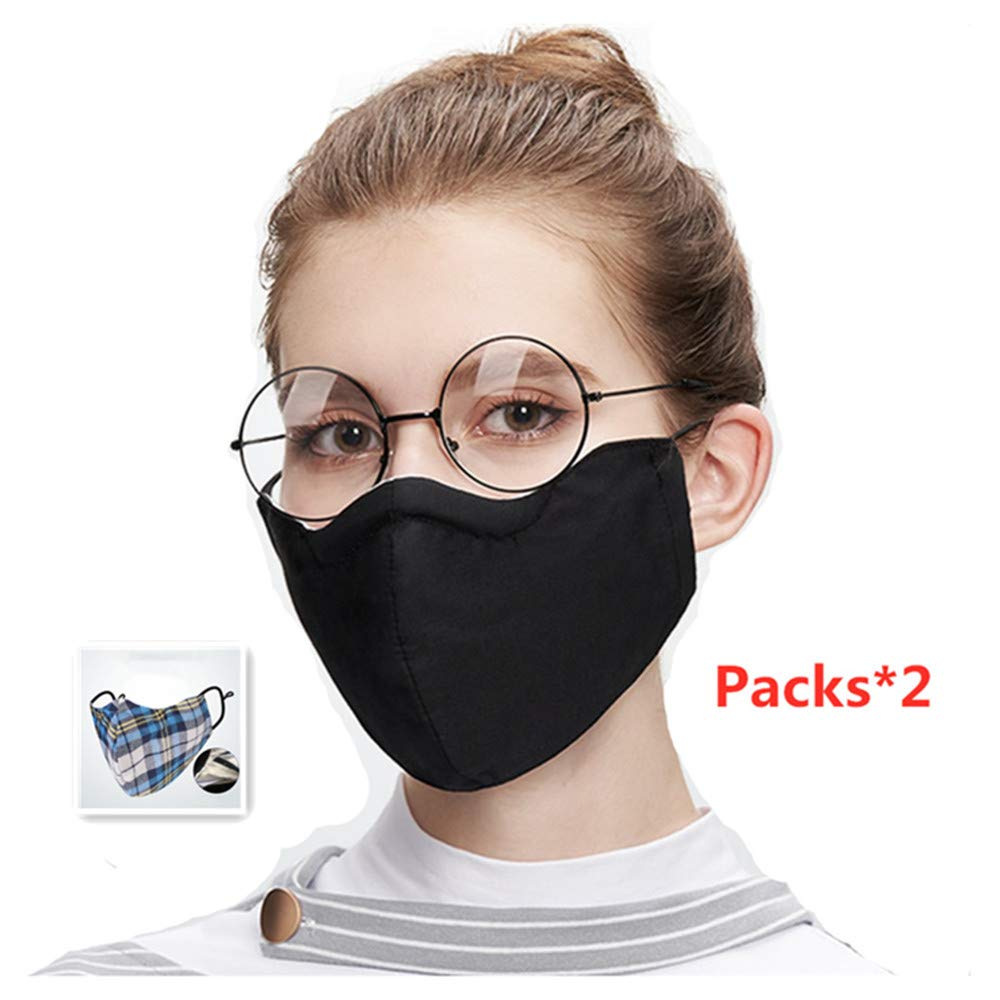 Dgyus Respirador para Polvo, con Estilo 2 Paquetes de Filtro de Alta eficacia para el Gas tóxico, partículas de Polvo y Gas tóxico.