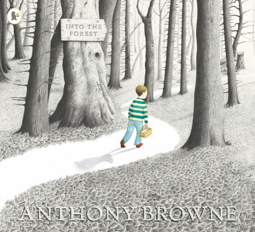 Image result for into the forest book cover anthony browne