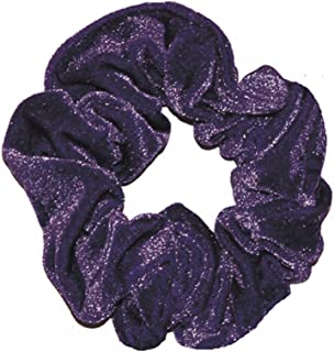 Smooth Velour Hair Scrunchie Pourpre Dancewear Central