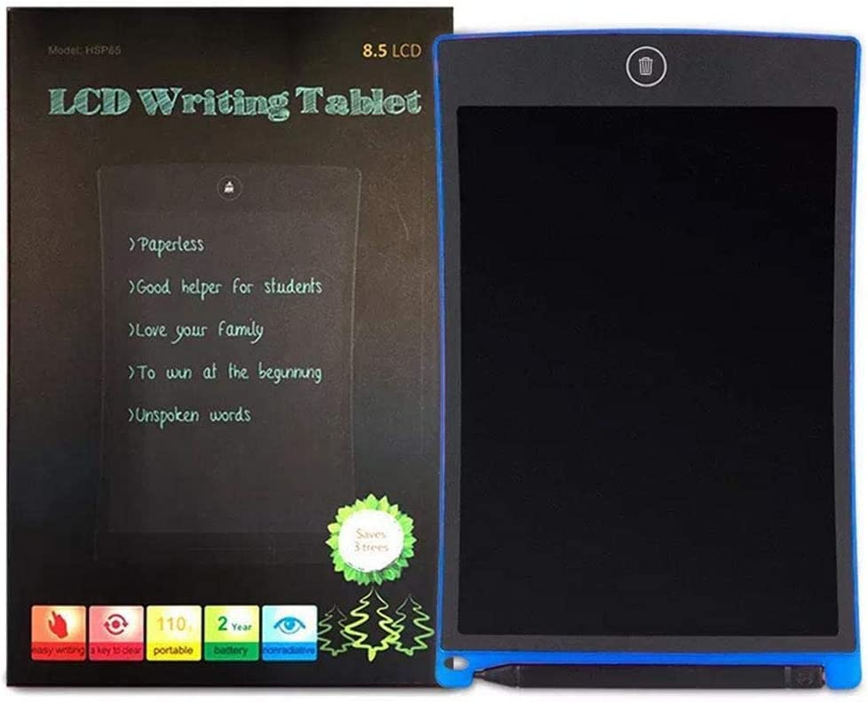 Corgy 8.5 inch LCD Writing Tablet Panel Curved Light Energy Electronic Drawing Board Screen Filters